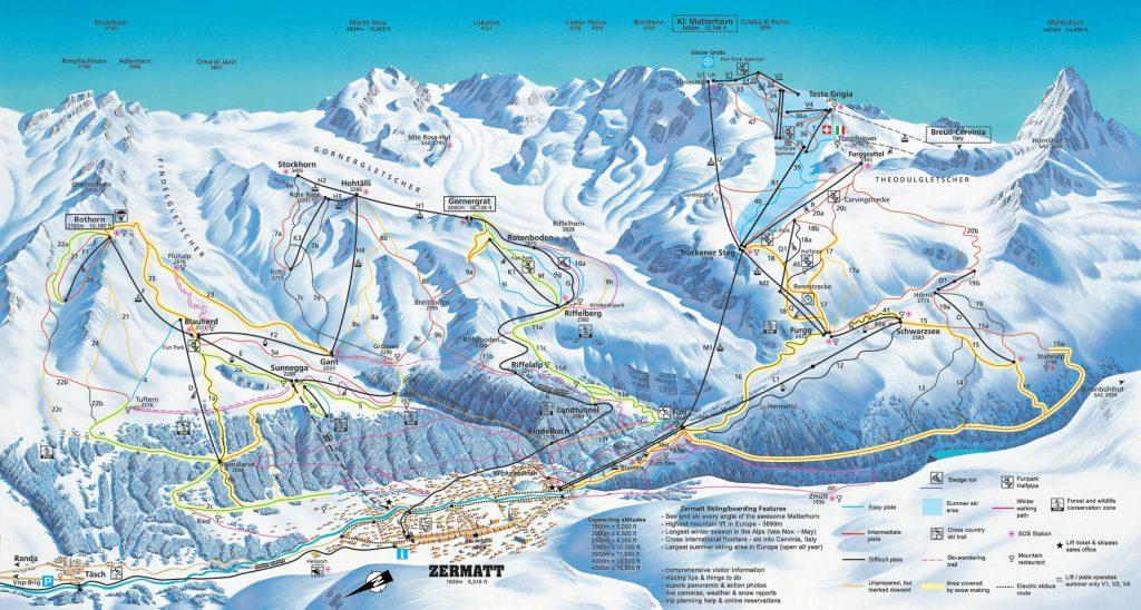 Zermatt Ski Lifts